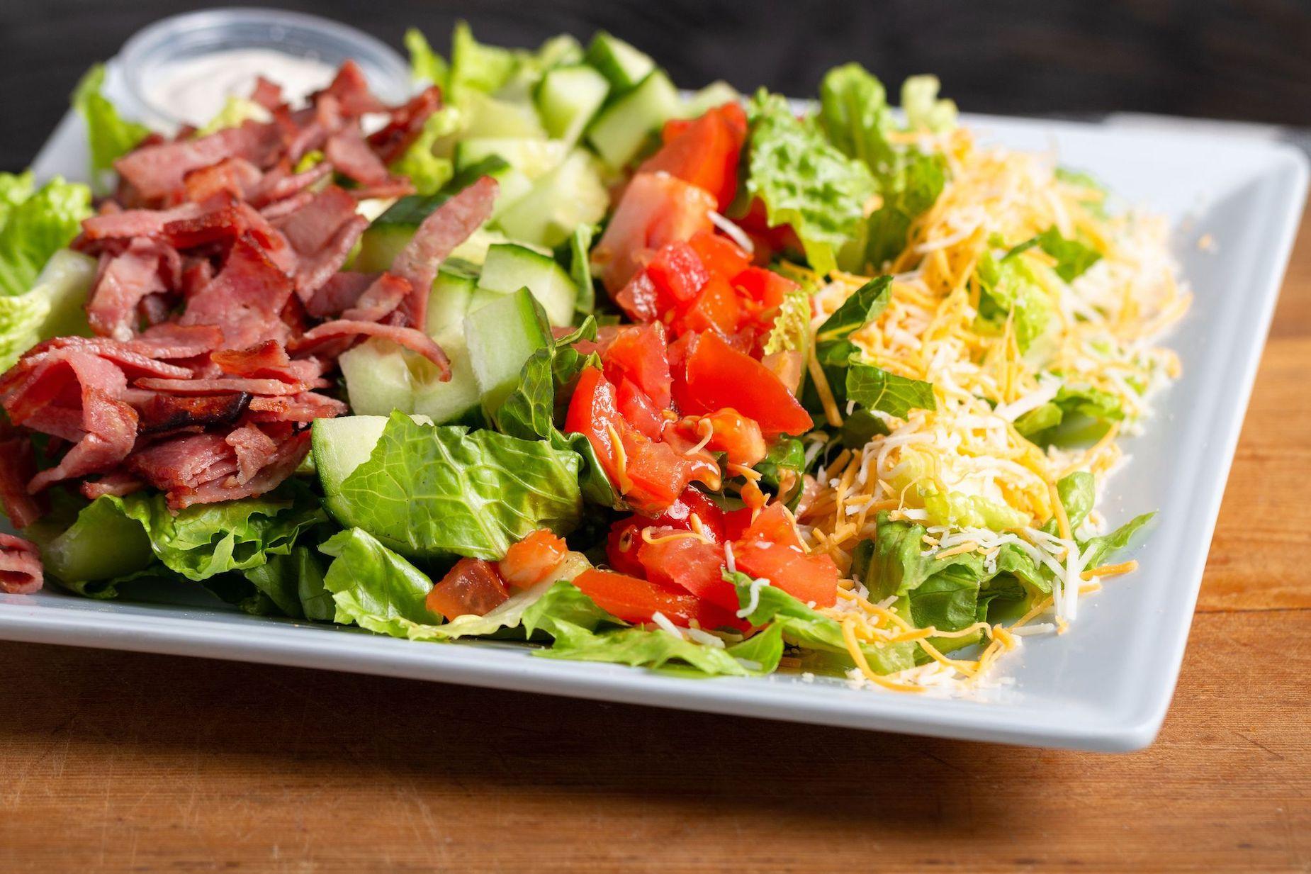 Java Bakery Cafe_ BLT salad