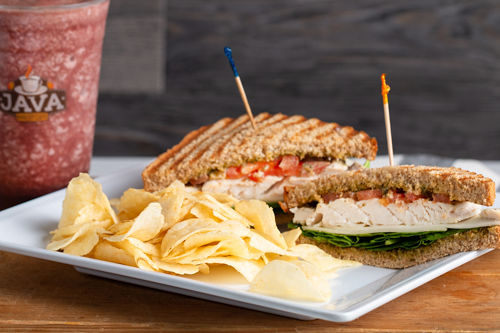 Java Bakery Cafe_ Chicken Pesto Sandwich
