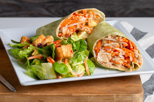 Java Bakery Cafe_Spicy Thai Wrap
