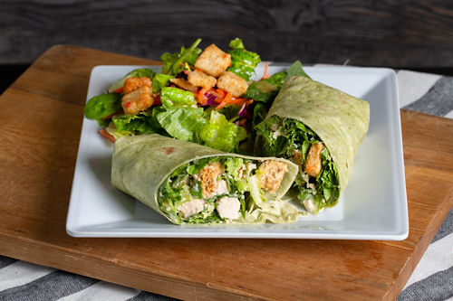 Java Bakery Cafe_Chicken Caesar Wrap