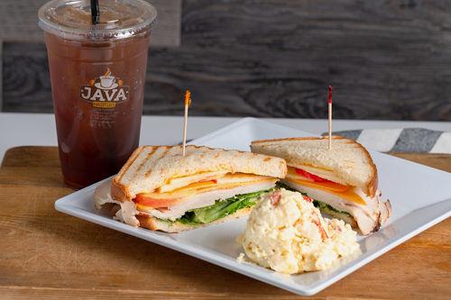 Java Bakery Cafe, Turkey Apple Sandwich