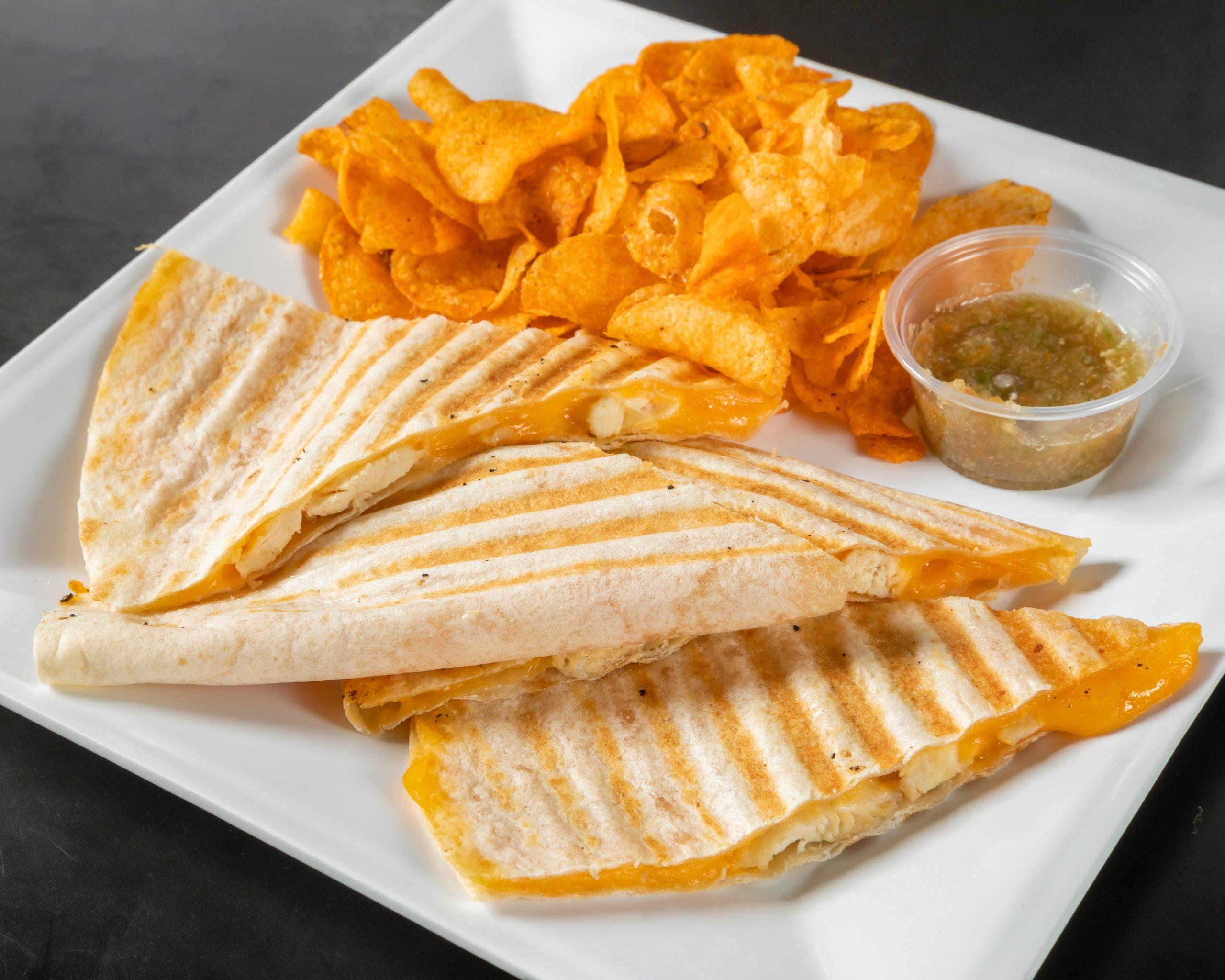Java Bakery Cafe_ Chicken Quesadillas