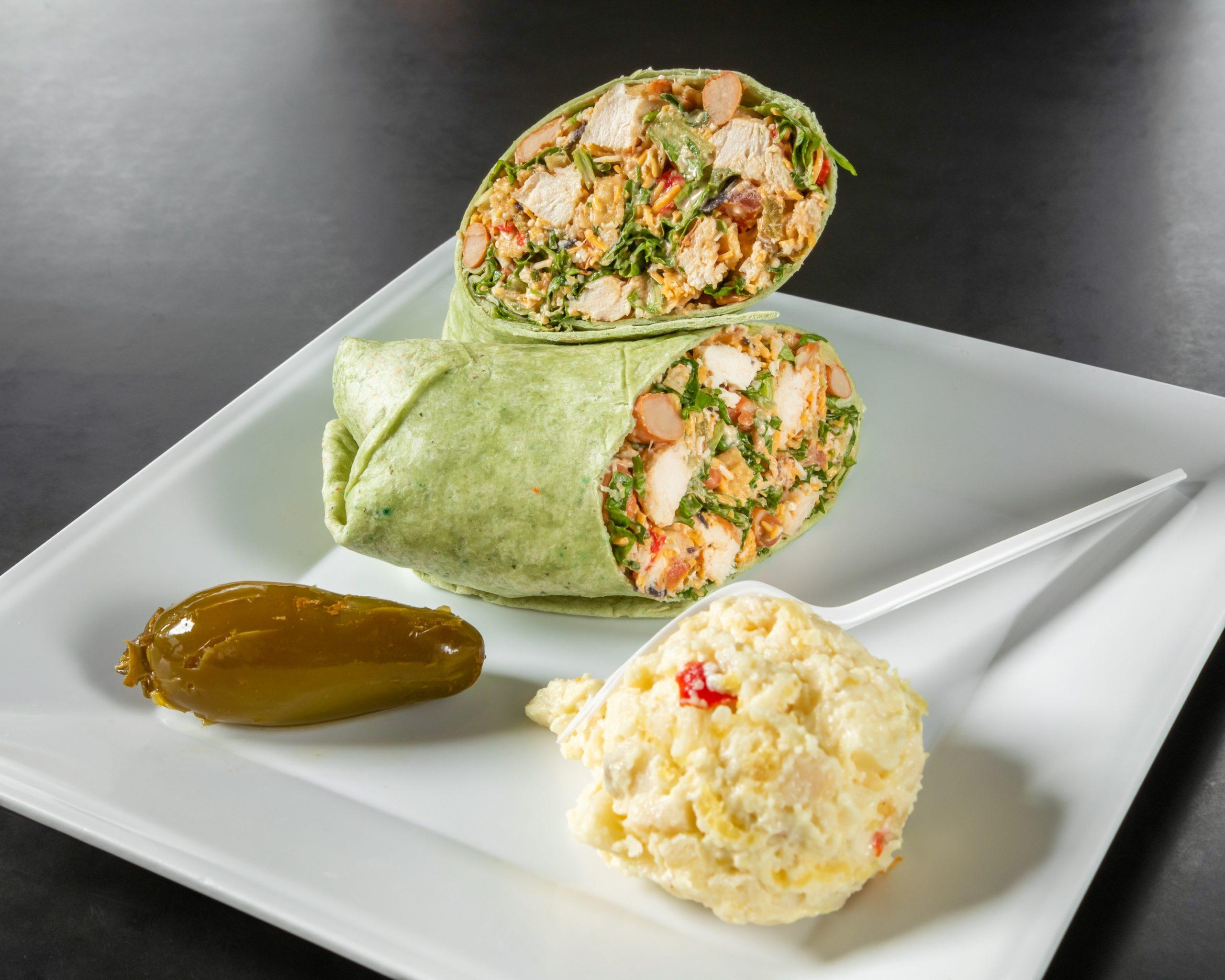 Java Bakery Cafe_ Southwestern Chicken Wrap